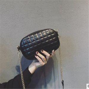 Fashionable little fragrance lady bag 2020 new versatile cross-body bag web celebrity small black bag mini ringer chain