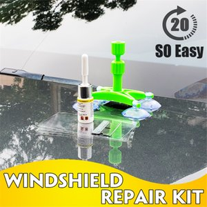New Car Window glass Repair Resin Curing Glue Windshield Repair Kit DIY Car Window Tools Glass Scratch Crack Restore 2020