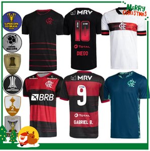 20 21 2020 2021 jersey flamengo GUERRERO DIEGO VINICIUS JR Maillots de football Flamengo GABRIEL B hommes de football de sport et chemise femme