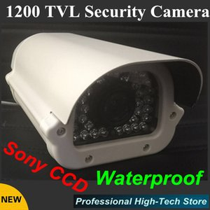 "Free shipping Sony CCD 1200TVL Waterproof CCTV Camera outdoor 1 3"" 36 array LEDS Surveillance CCTV System"