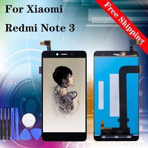 """5.5 """"سوبر الجودة LCD للXIAOMI Redmi ملاحظة 3 LCD شاشة عرض تعمل باللمس استبدال محول الأرقام الجمعية أسود أبيض"""
