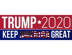 In 2020, Donald Trump car stickers, bumper stickers, make the United States become the best car styling car stickers trump stickers