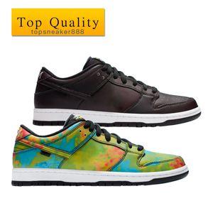 أعلى جودة رجل أحذية أزرق أحمر أخضر وأصفر مشوه من أسود أبيض أسود حذاء مع مربع حجم 36-45 رجل السببية أحذية النساء الأحذية