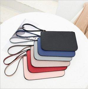 Yepyeni ucuz Wristlets cüzdanlar Debriyaj Çanta PU deri kart sahibinin kimliği Kart telefon telefon Sikke Çantalar 6 renk Satın 10 ücretsiz 1