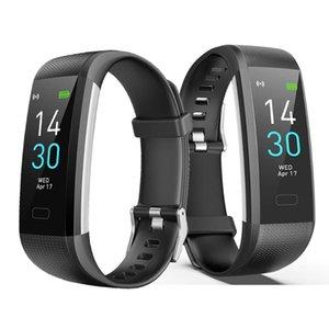 الأساور الذكية لون الشاشة S5 الرياضة سوار اللياقة البدنية المقتفي مشاهدة جميع متوافق رسالة تذكير معصمه الرياضة للرجال