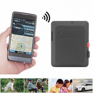 카메라 SOS MHop 번호와 X009 미니 GPS 추적기 비디오 녹화 자동차 애완 동물 분실 방지 로케이터