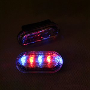 LED Flashing Shoulder Light Waterproof Warning Signal Lamp Warning Light SOS Clip Flash