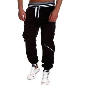 Size M-4XL Men Full Length Sweatpants Casual Mid Waist Joggers Men Trousers Comfort Elastic Waist Hip Hop Streetwear Pants Men