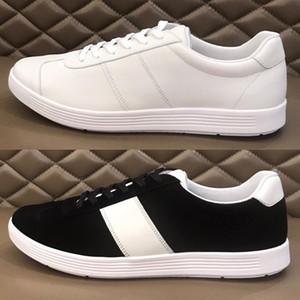 2020 Nuevo zapatos casuales para hombre con Italia de gama alta Cowhair Leather Bar Estilo Moda y zapatos a juego de tablero de la calle urbana