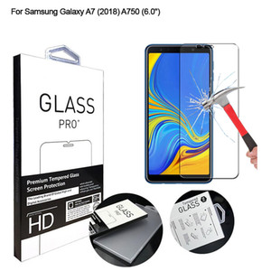 Протектор экрана для Samsung Galaxy A7 (2018) Закаленное стекло HD Clear Anti-царапинам закаленное стекло для Samsung Galaxy A750 случае