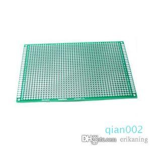 8x12cm نقرا مجلس جانبية DIY نموذج ورقة PCB سمك 1.6mm ولوحة عالمية brassboard الألياف الزجاجية رش القصدير ذات نوعية جيدة