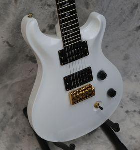 Пользовательские электрогитары, двойной разрез п.с. белая гитара