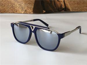 Klassische Männer Sonnenbrille Platte Quadrat Rahmen 0936 Einfache und elegante Retro Design Mode Brille Outdoor UV400 Anbetung Schutzbrillen