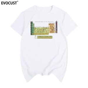 Tableau périodique Humour Sarcasme drôle de cadeau d'anniversaire chimie T-shirt de coton pour hommes T-shirt New T-SHIRT Femmes Mode Unisexe