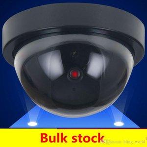 가짜 더미 카메라 시뮬레이션 보안 비디오 CCTV 감시 가짜 더미 IR LED 돔 카메라 신호 발생기 산타 보안 BWE835 공급