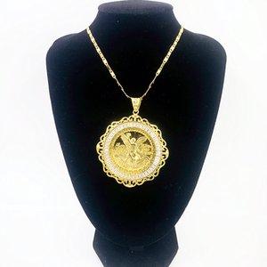 2020 gioielli per gli uomini placcato oro 14K pendenti maglione della collana del mens ciondolo a catena per collane gioielli portachiavi grande Ciondoli collane fai da te