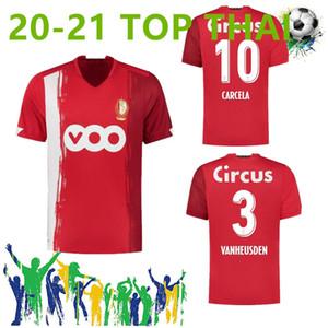 Nouveau 20 21 Standard Liège Soccer Jerseys Home Limbombe 2020 2021 R. Standard de Liège Vanheusden Laifis Cimirot Emond Carcela Football Shirts