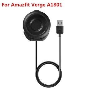 1m Para Xiaomi Huami Amazfit Verge A1801 Smartwatch Carregador Rápido carregamento Carregador Power Adapter Cabo USB