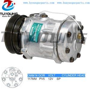Alta calidad R134A SD7H15 ac automático del compresor Renault VI 7700300462