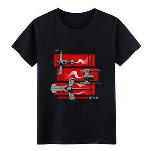 Cowboy Bebop passerelle navette T-shirt personnalisé manches courtes S-XXXL Vêtements Mode cadeau Printemps Automne Unique shirt