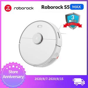 Roborock S5 Max Xiaomi Roboter-Staubsauger für steuern intelligente Fegen Robotic Reinigung Mope-Upgrade von Roborock S50 S55 Mi Roboter