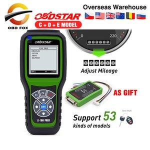 OBDStar x100 pro clé programmeur X100 Auto PROS C + D + E + IMMO odomètre + OBD x100 pros avec eeprom comme cadeau odomètre outil de correction