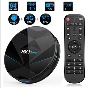 Hk1 Mini Plus Android 9.0 TV Box Ram 4GB 32GB RK3318 4k Dual-wifi Bluetooth4.0 Media Player PK TX3 MINI