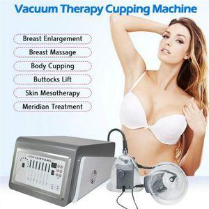 2020 New Design Vacuum Therapy Machine Desktop Breast Cup Enhancement Massage Sucking Cupping Nursing Breast Enhancer Instrument