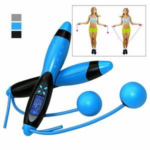 Digital LCD Saltar saltando cuerda Cuerda Calorie Contador Temporizador Gimnasio Fitness Home