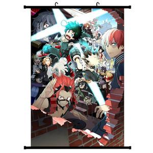 Japão Anime Boku No Hero Academia Canvas Scroll casa pintura decoração da parede Imagem Poster