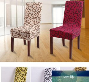 Stretch Chair Cover Printed Dining Chair Cover Spandex Slipcover for Banquet Home Restaurant