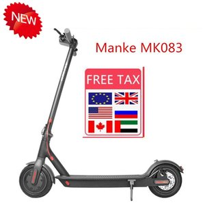 US EU Stock Electric Scooter 250W Folding Kick Bike Bicycle Scooters For Adult 36V With LED Display High Speed Off Road MK083