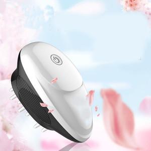 Elétrica Scalp Massager portátil de cabeça Massager Scratcher para tensões de crescimento do cabelo Estimulante escova lançamento Scalp Massage