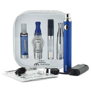 1 başlangıç kitlerinde Vape kalem kuru ot buharlaştırıcı DAB kalem 4 510 iplik pil 1100mAh pil mum yağı kalem bitkisel buharlaştırıcı vapes