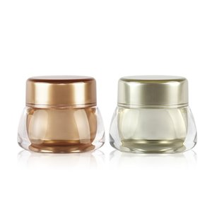 7g 50pcs lot High-grade Cream Jar Empty Plastic Acrylic Refillable Bottle Makeup Travel Lotion Cosmetic Container