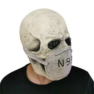 Presidente Donald Trump maschera di protezione piena maschere in lattice Designers Cosplay Halloween Party Overhead maschera di teschio spaventoso carattere Fashion Mask D81706