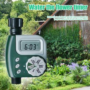 새로운 정원 관수 타이머 자동 전자 물 타이머 홈 프로그램 호스 수도꼭지 물 타이머 자동 실행 Irrigator