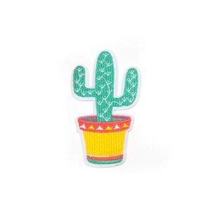 20200816 Cactus zona del ricamo patch fatti a mano accessori di abbigliamento fai da te colla schiena fai da te