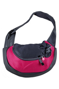 Chien Chat Chiot Carry Tote Voyage Sac à bandoulière Sac Sling rose S