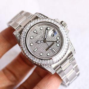 116.758 noni SA design di lusso orologi Mens Watch 2836 Movimento Movimento automatico dual fuso orario 40 millimetri di fascia alta Men Watch A5