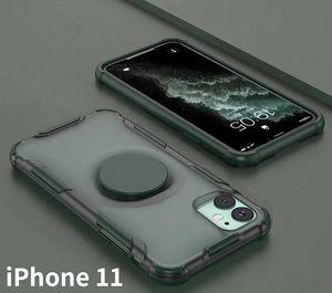 for Samsung A10S A20S A30S A50S A50 A51 A71 A01 A11 A21 EU Holder Case Matting Transparent Shell Cover Anti-Fall