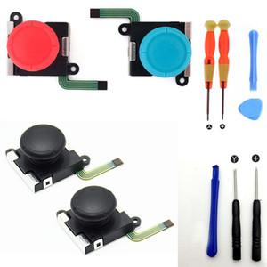3D joystick analogique pouce poignée bâton Cap Bouton clé Module de commande de réparation Partie Switch Lite NS Mini Controller Joy-Con