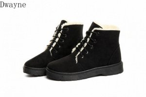 2020 New Fashion Plus Velvet Short Boots Lightweight Warm Snow Boots Autumn And Winter High Top Waterproof Cotton Shoes Western Boots 5Cap#