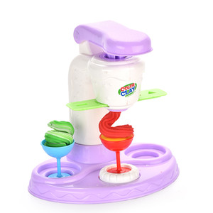 Children's ice cream party toys, multi - color combination, to develop the cognitive ability of the baby