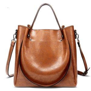 New Casual PU Handbags Shoulder Quality Female Fashion Crossbody High Bags Large Women Zipper Ladies Capacity Bag Big Soft Totes Jsohc