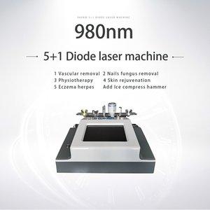 30W 980 Diode Laser Vasküler Terapi Makine Tırnak Mantarı Lazer Tedavisi 980 Nm Örümcek Ven Kaldırma