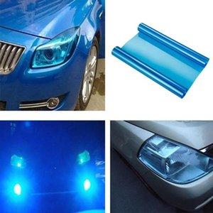 30*60cm Transparency Car Light Stickers Car Light Headlight Taillight Tint Vinyl Film Sticker Fog Rear Lamp Smoke Film