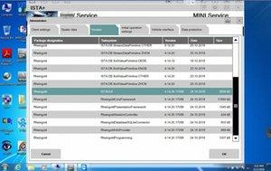 하나 개의 하드 디스크 1TB 창에서 BMW ICOM를위한과 최신 2IN1 MB 스타 C4의 C5의 소프트 / 도자기 95 % 노트북 oBbV # 7 작품