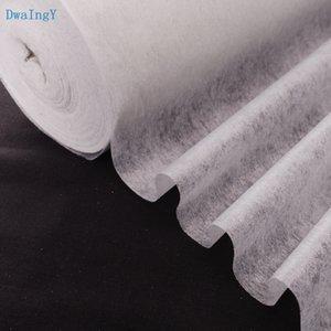 DwaIngY lado adhesivo único DIY accesorios de tela de tela patchwork forro de tela blanca 50cmx100cm