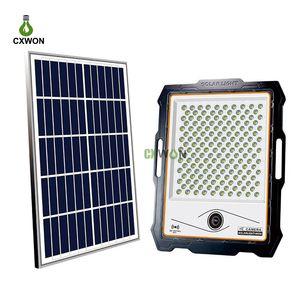 LED Güneş Işık 200 W 300 W WIFI Kamera 16G 32G TF Kart Hareket Algılama Alarm Güvenlik Güneş Monitörü Işık Açık Güneş Spot Işık